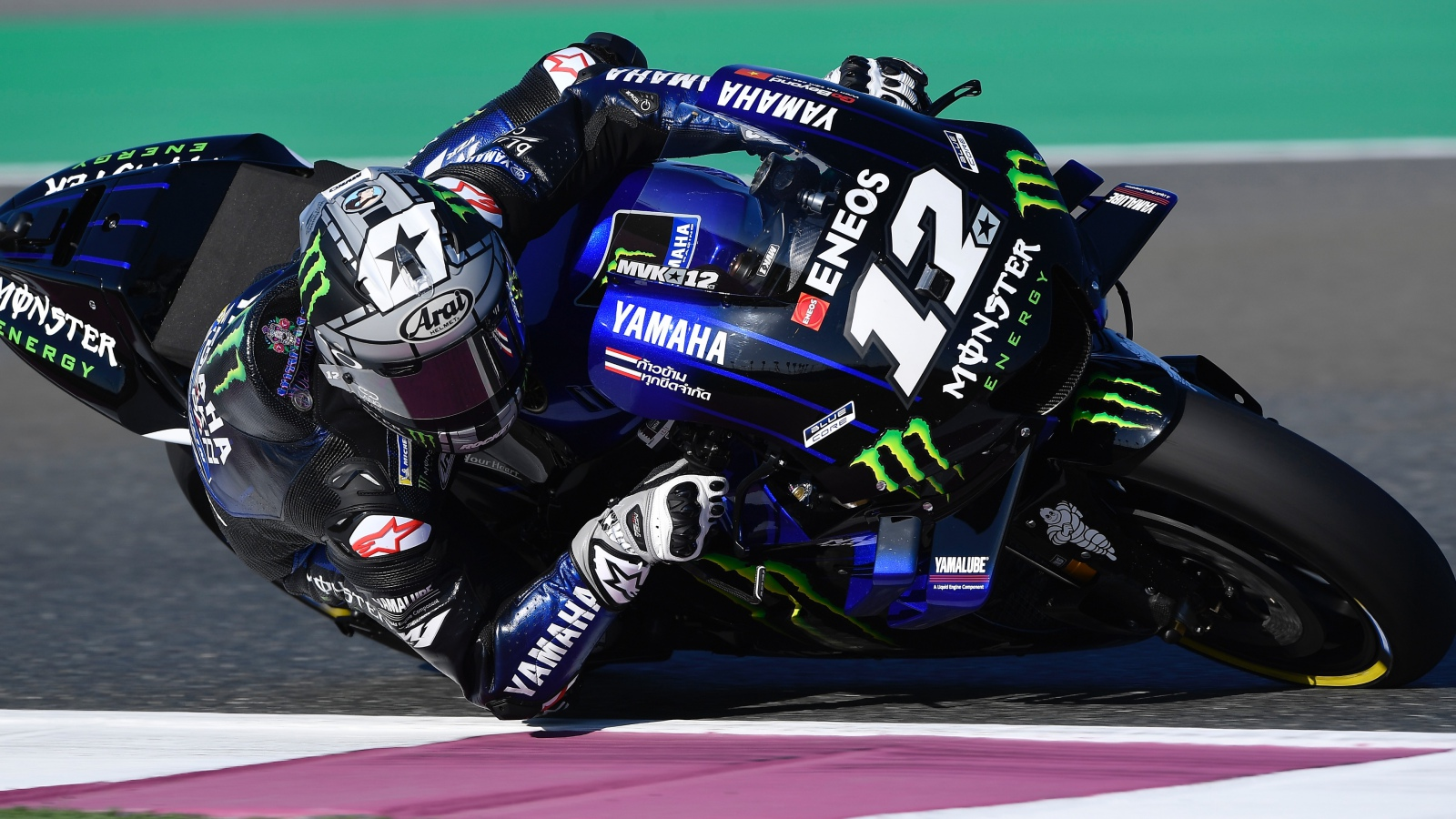 Maverick Viñales hace la pole de MotoGP en Qatar ante Andrea Dovizioso y Marc Márquez