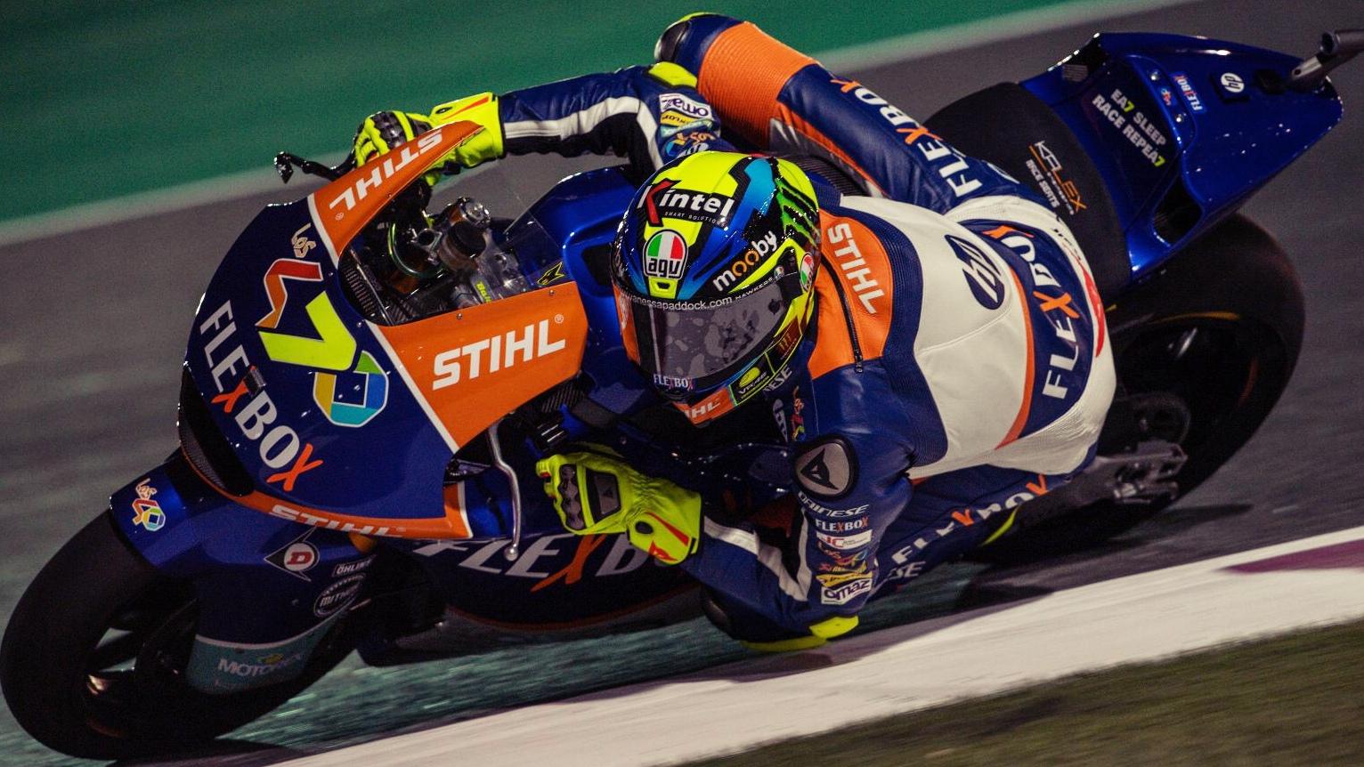 Lorenzo Baldassarri bate a Thomas Luthi por milésimas en el estreno de Moto2 2019