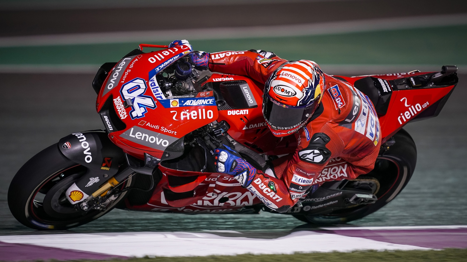 Andrea Dovizioso se impone a Marc Márquez en Qatar con un espectacular déjà vu