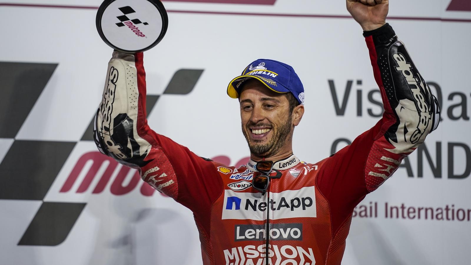 """Andrea Dovizioso: """"Marc siempre lo intenta, pero hemos hecho una última vuelta perfecta"""""""