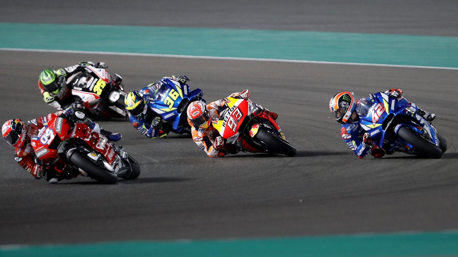 Píldoras MotoGP Qatar 2019: Las bolas de dragón, un huevo de cocodrilo y la Rossiliencia