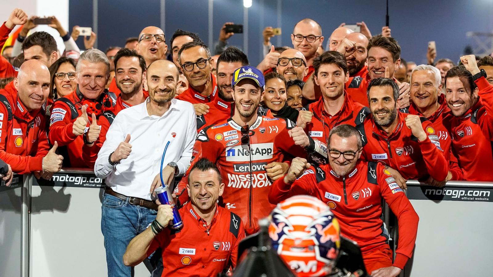 Ducati vuelve a desafiar el orden establecido buscando el mejor año de su historia