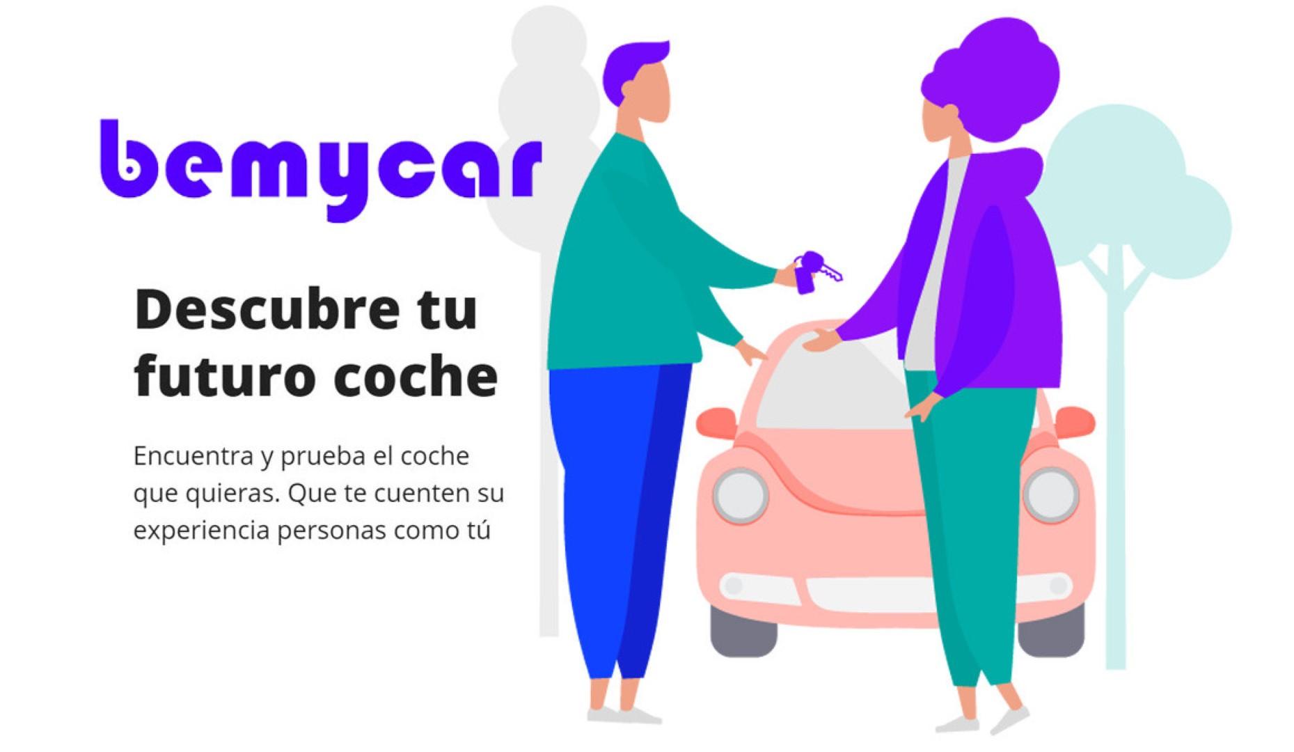 Bemycar: gana dinero por enseñar tu coche