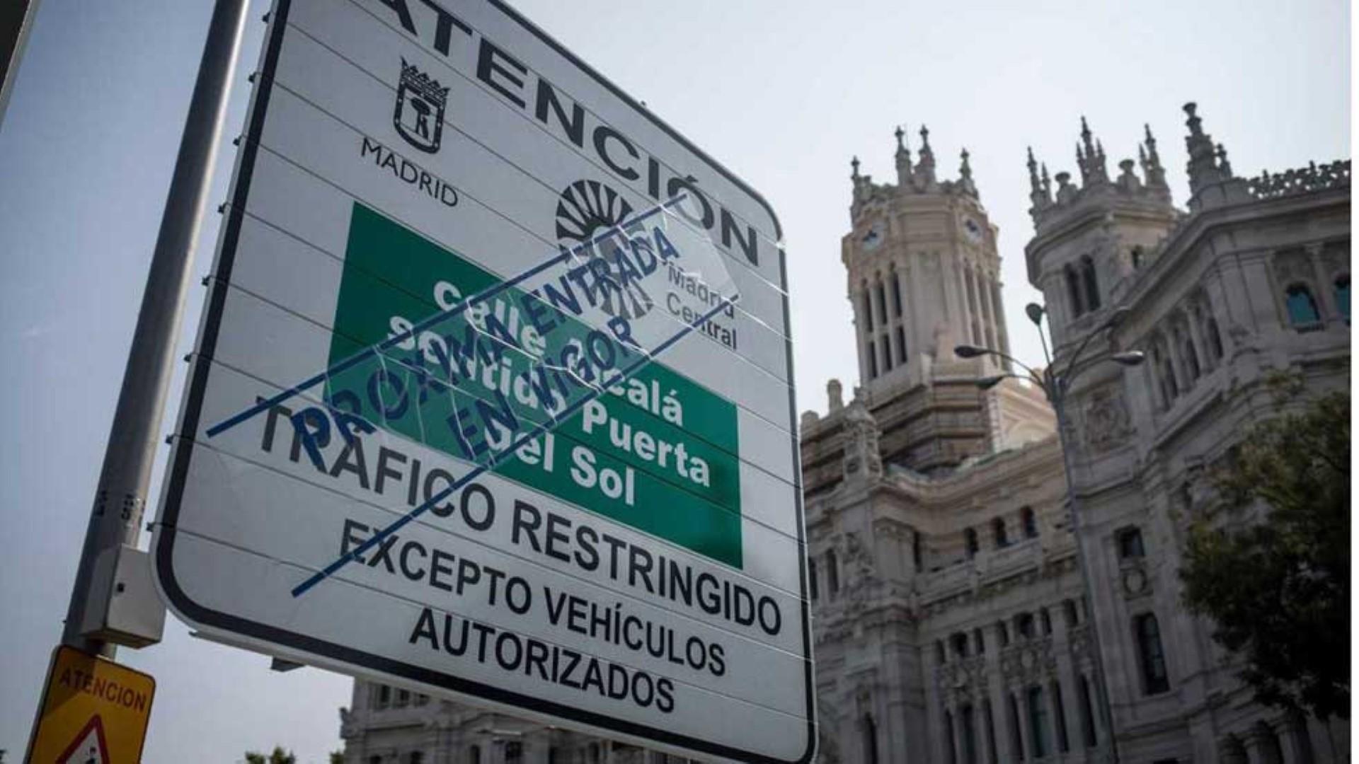Cómo circular en moto en Madrid Central