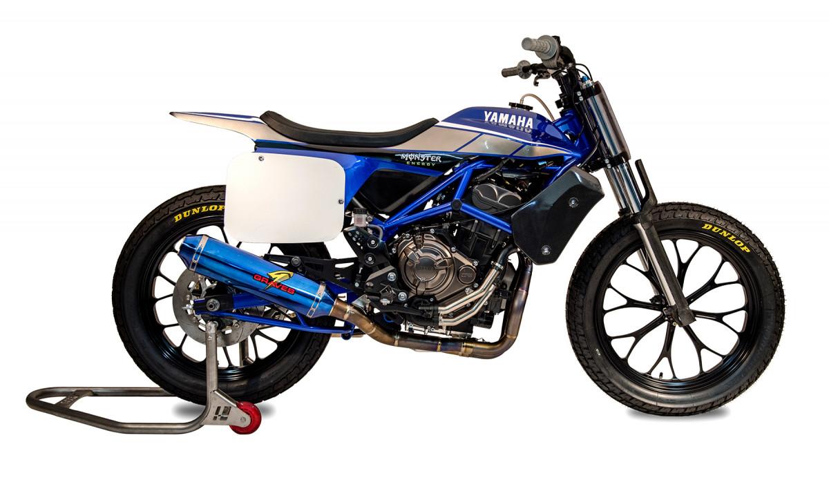 Yamaha MT-07 DT, Yamaha se mete oficialmente en el flat track