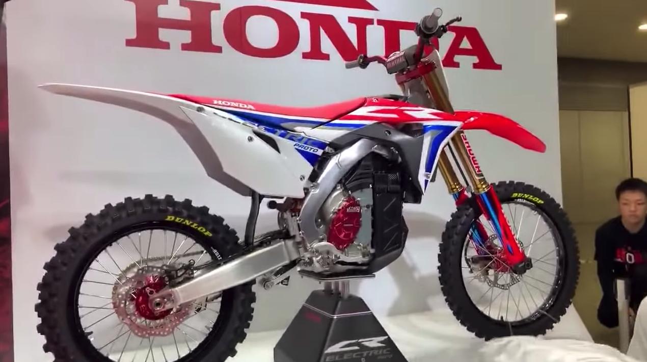 Honda CR Electric Proto, el motocross se hace eléctrico en Honda