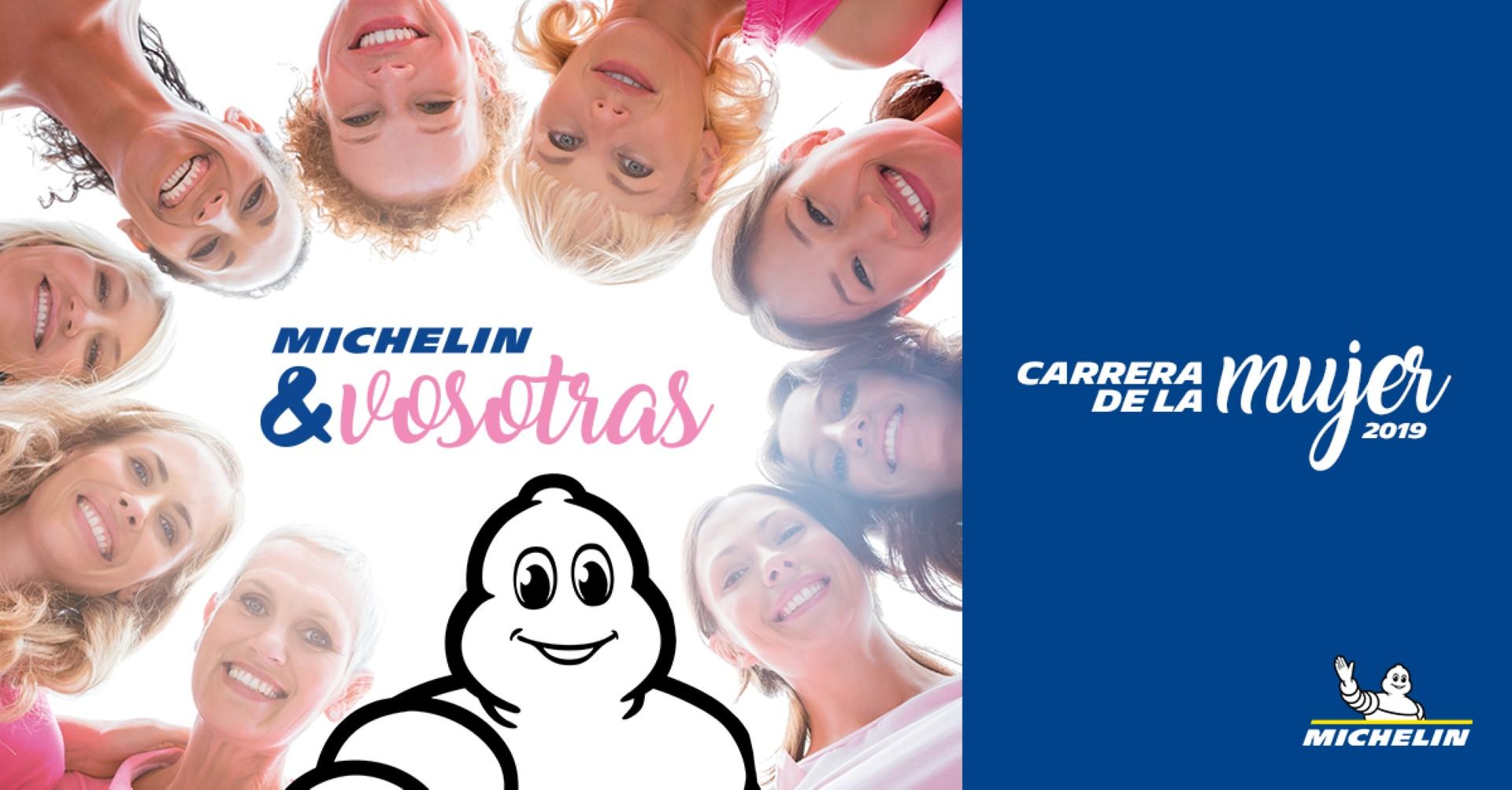 Michelin patrocinará la Carrera de la Mujer 2019