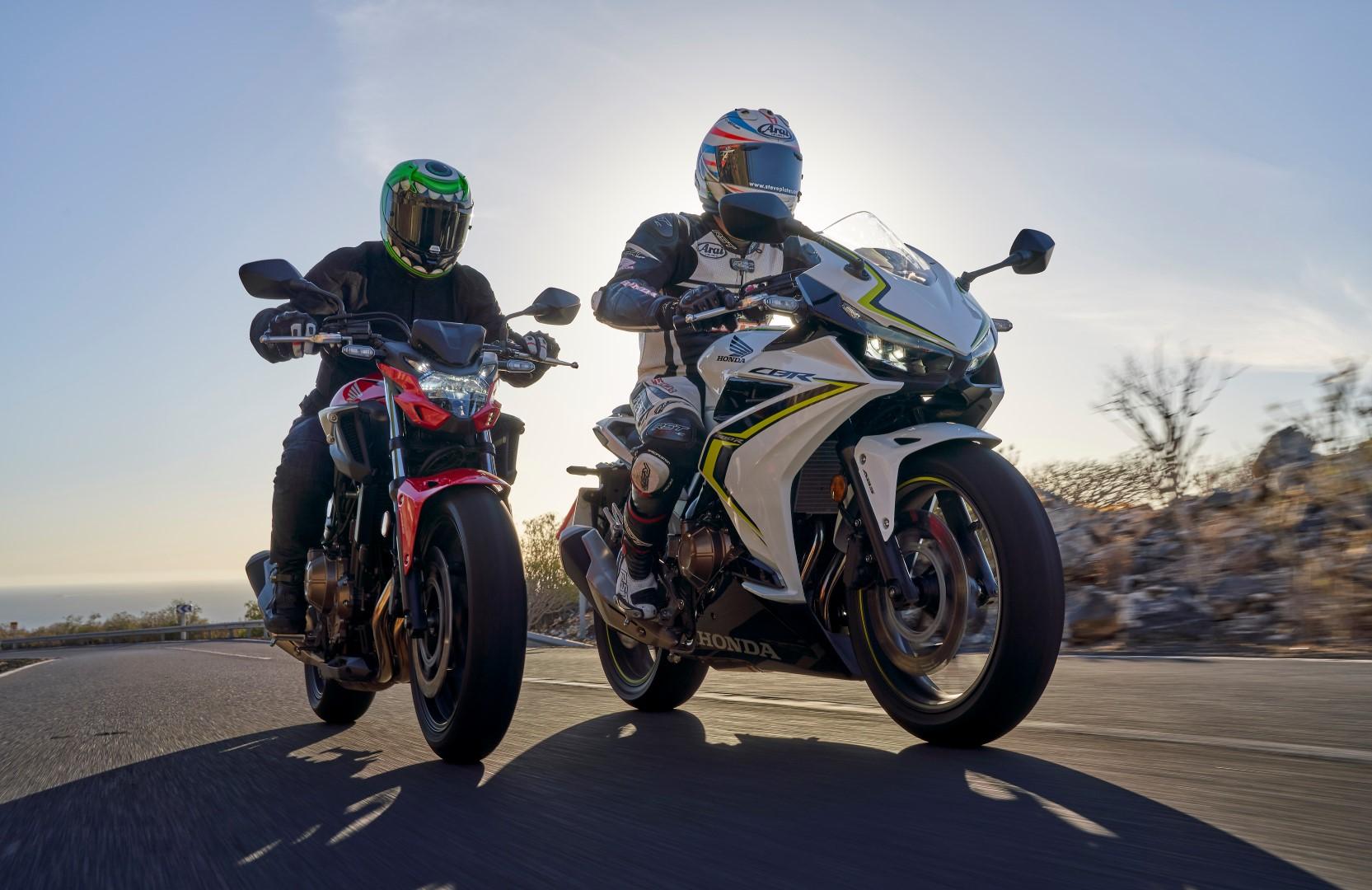 Honda CB500F/CBR500R 2019, prueba, ficha técnica y primeras impresiones