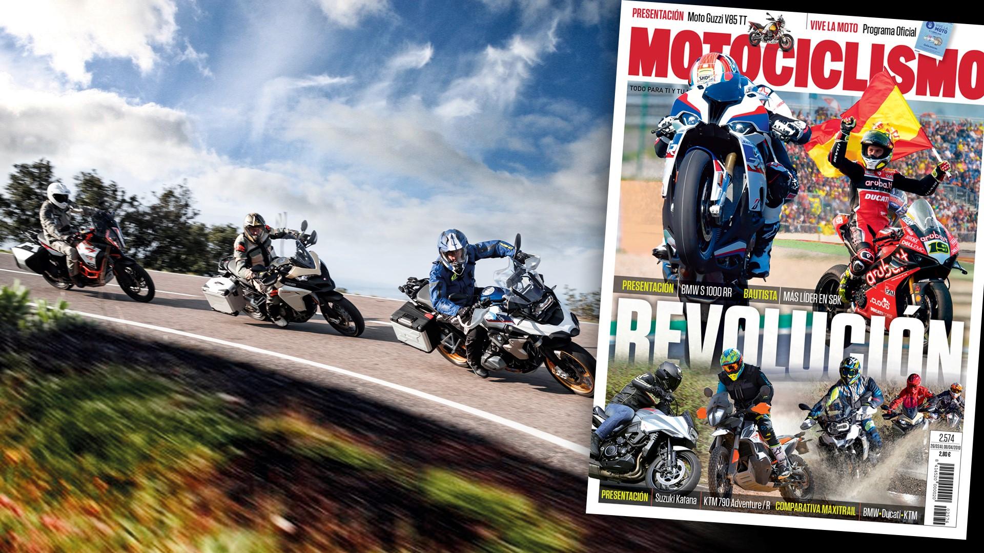 MOTOCICLISMO 2574, contenidos y sumario de la revista