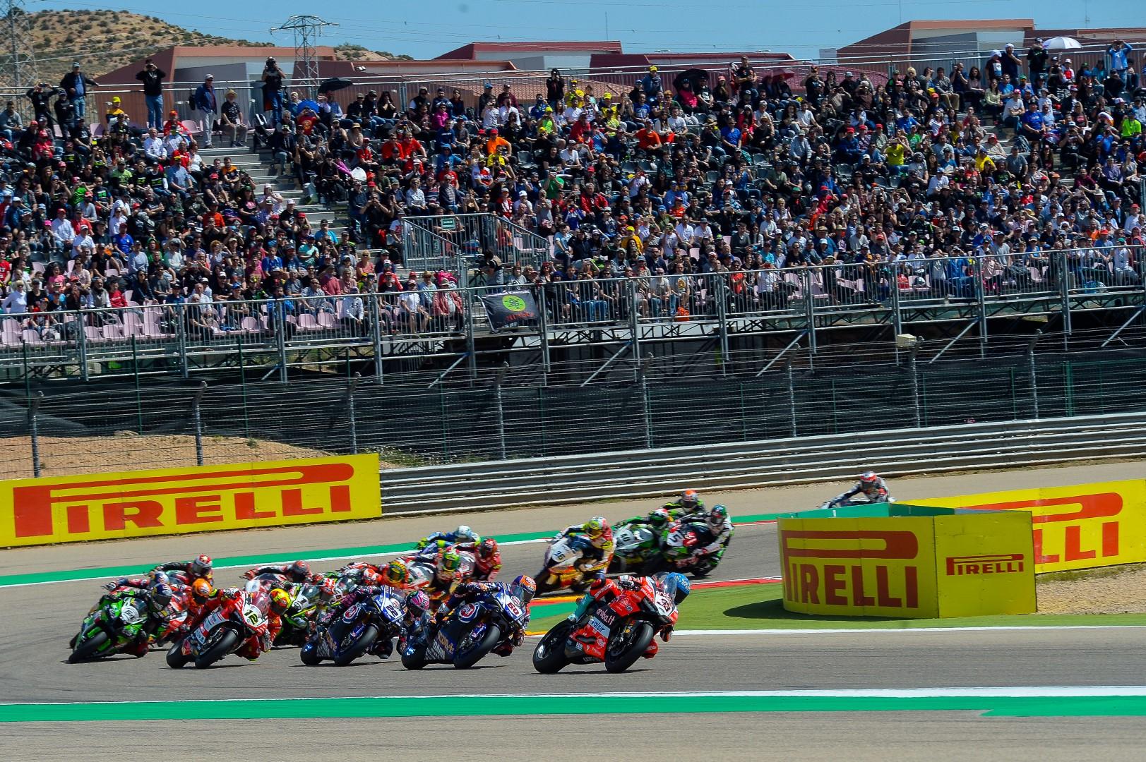 WSBK Aragón: 6 carreras, Álvaro Bautista líder y mucho ocio para los aficionados