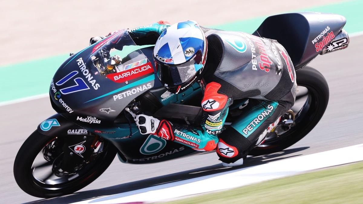 John McPhee lidera los libres de Moto3 entre el dominio de Honda en Argentina