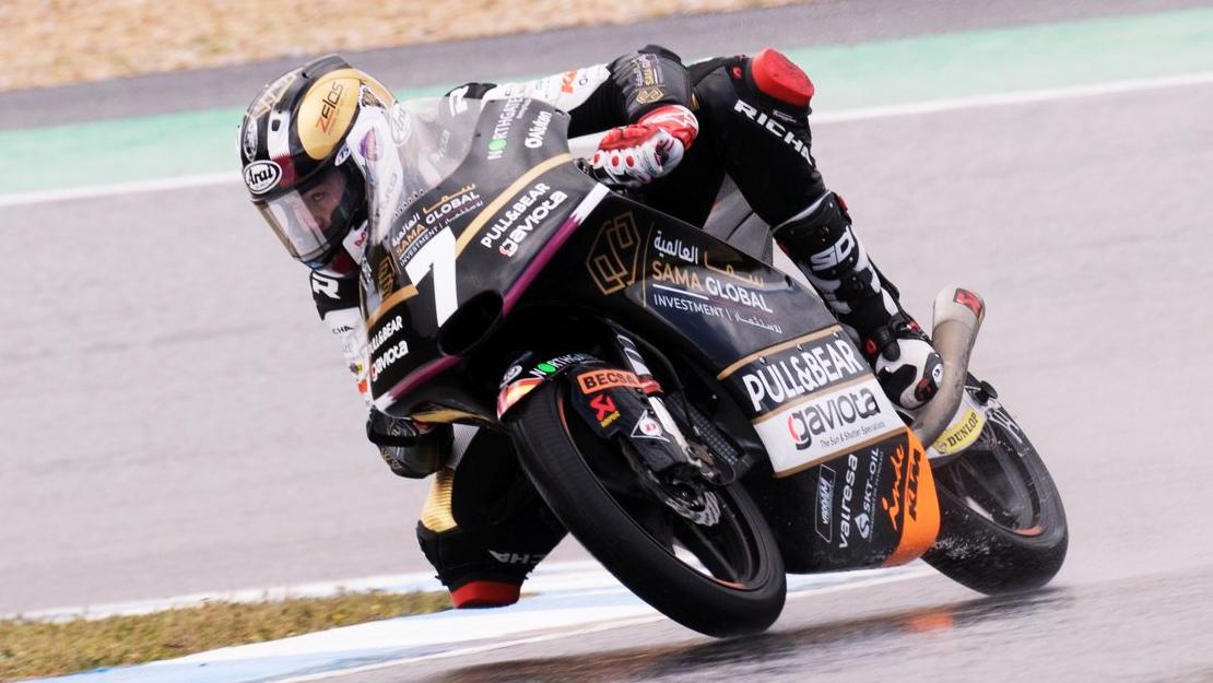 Barry Baltus logra su primer triunfo en Moto3 ante Xavi Artigas y mantiene su idilio con Estoril
