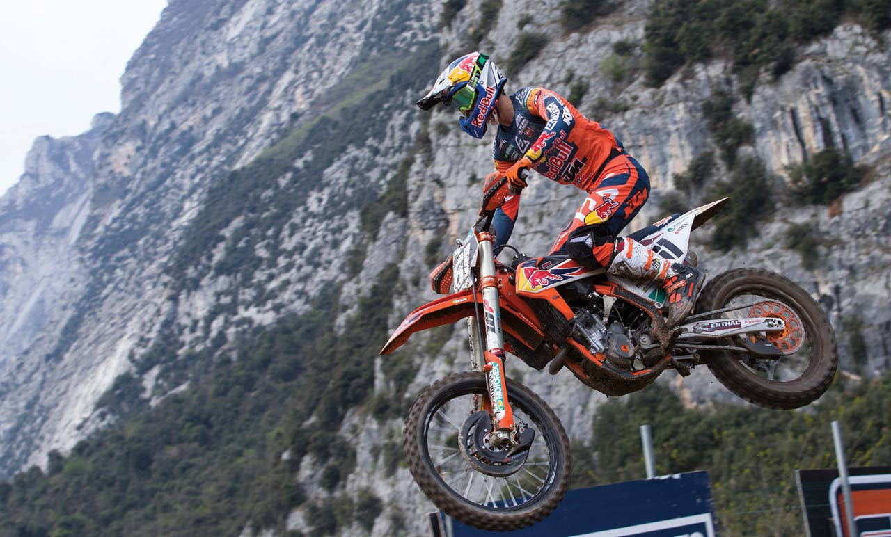 Jorge Prado, intratable en Trentino