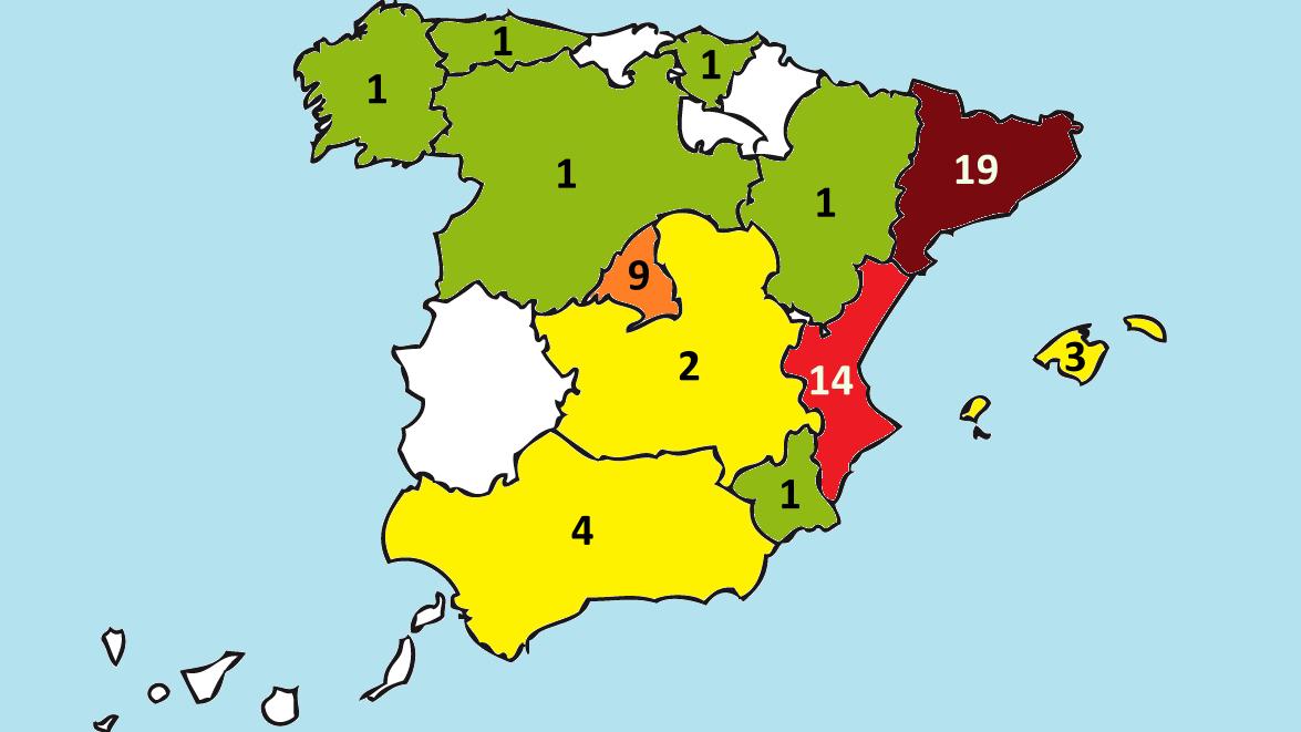 El motociclismo se expande por España: 12 CCAA con pilotos mundialistas en 2019