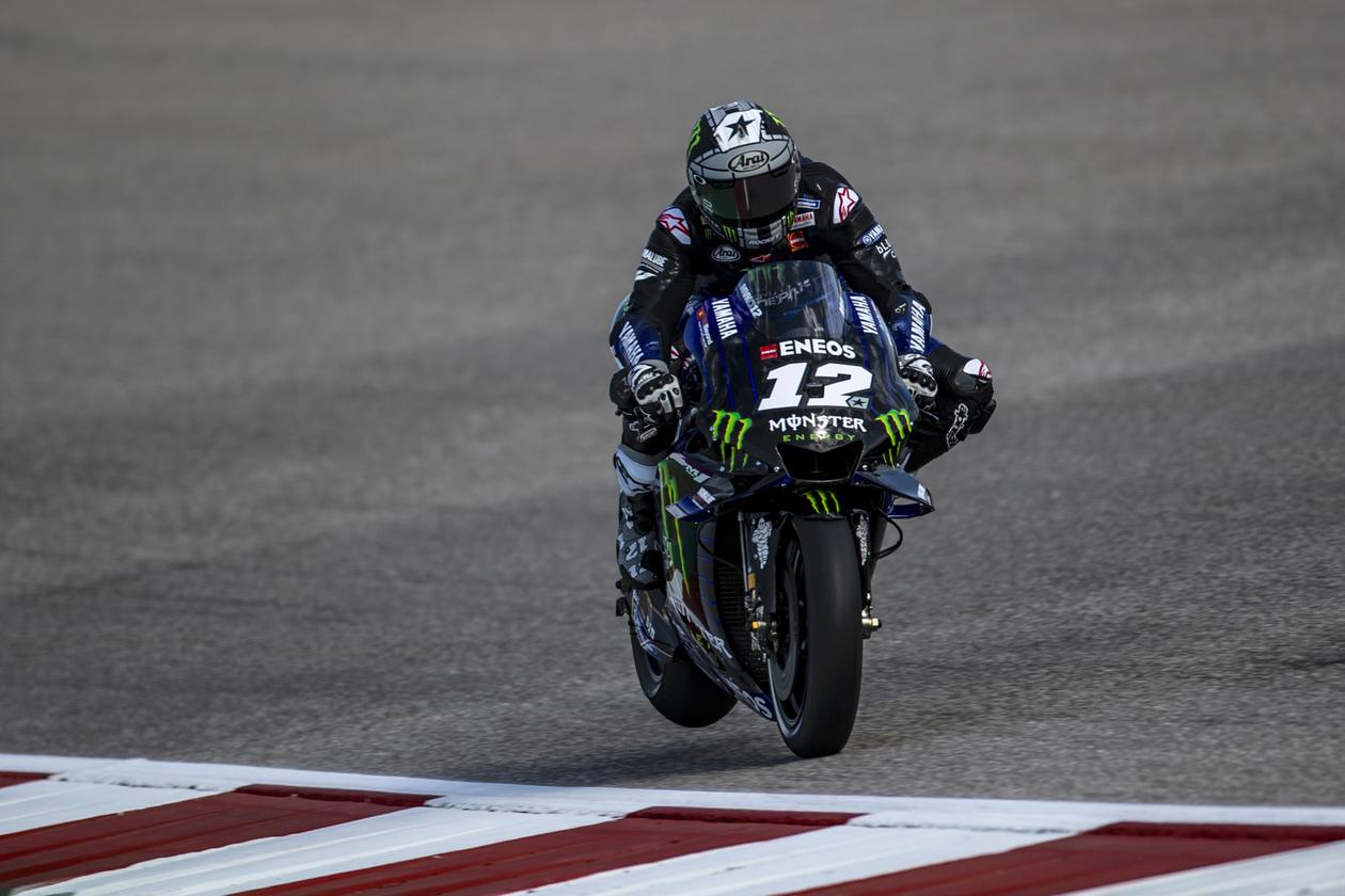 Maverick Viñales supera a Marc Márquez en los libres de MotoGP en Austin