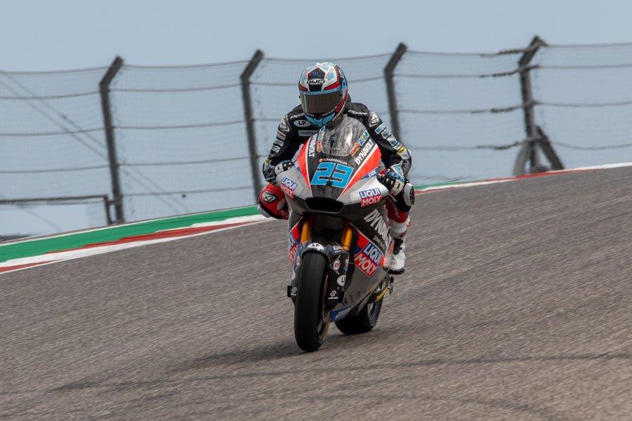 Marcel Schrötter es el más rápido en Moto2