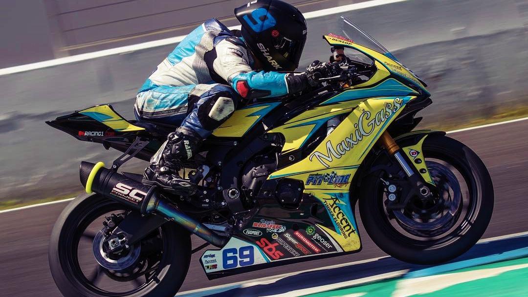 Javi Orellana será el primer español en correr en el Asia Road Racing Championship