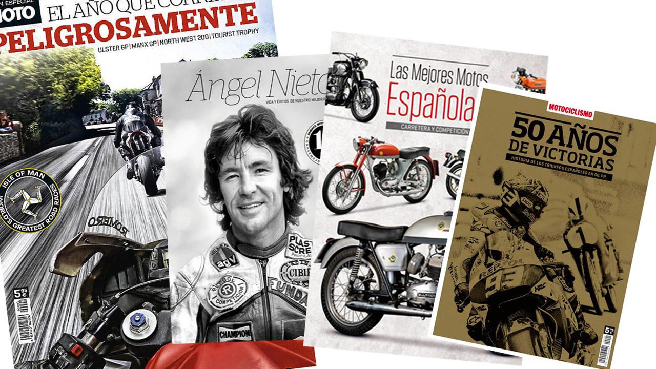 Los 4 libros imprescindibles de Motociclismo