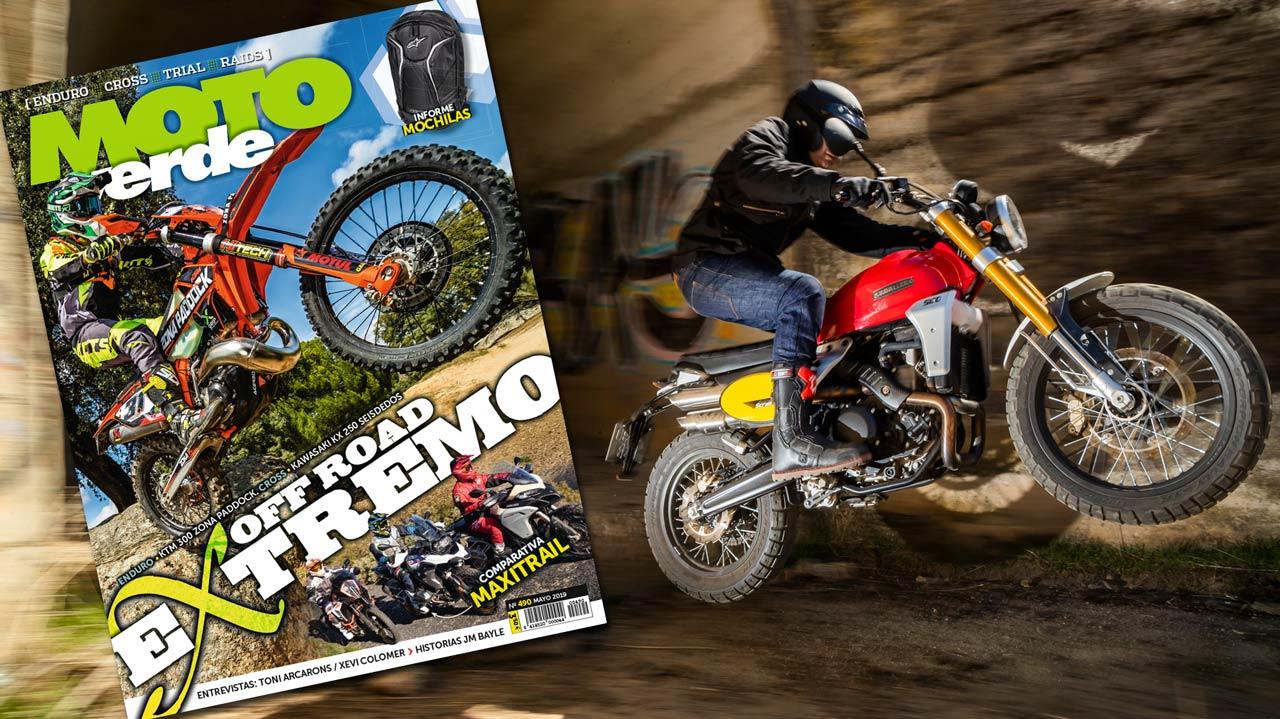 MOTO VERDE 490, contenidos y sumario de la revista