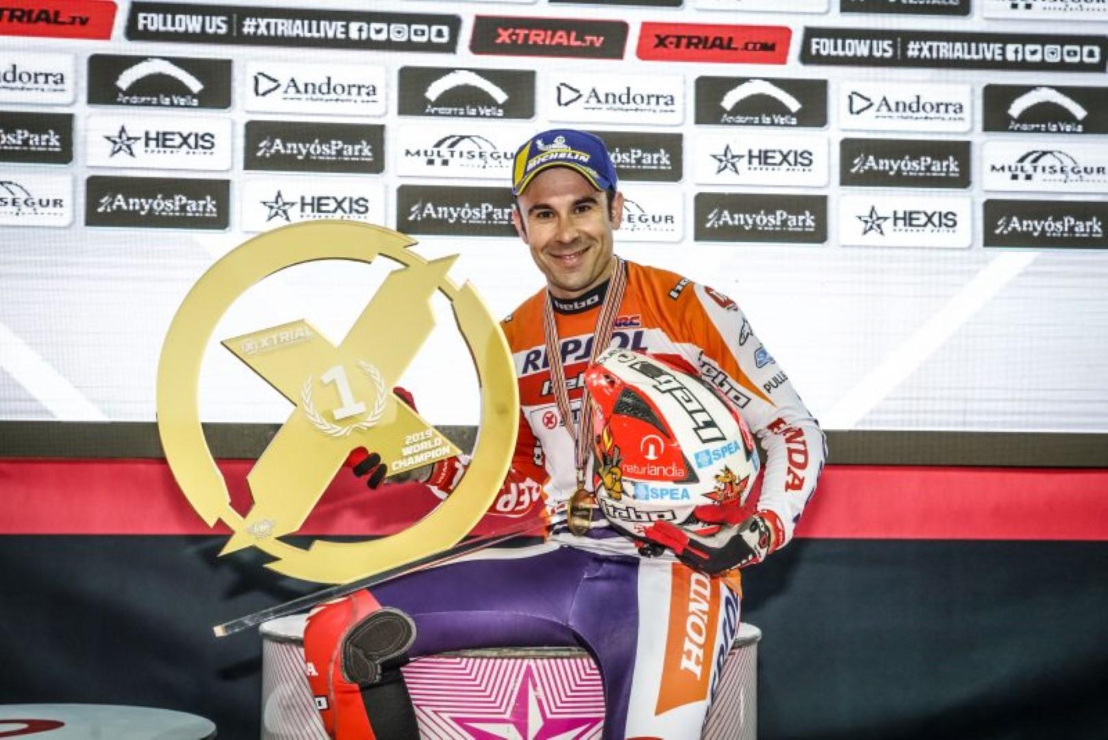 Toni Bou cierra la temporada de X-Trial ganando en Andorra