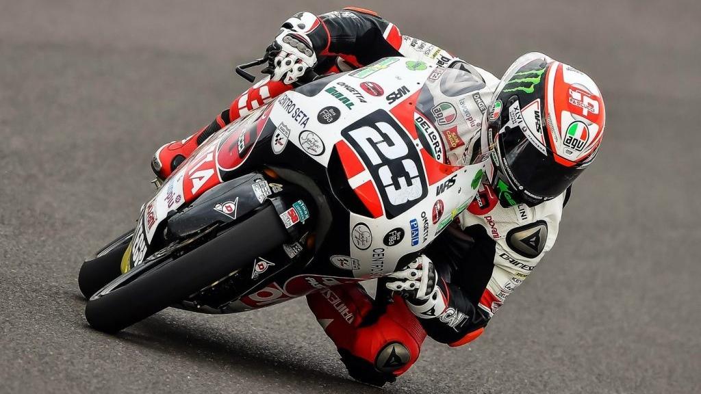 Niccolò Antonelli lidera los libres de Moto3 en Jerez con Raúl Fernández tercero
