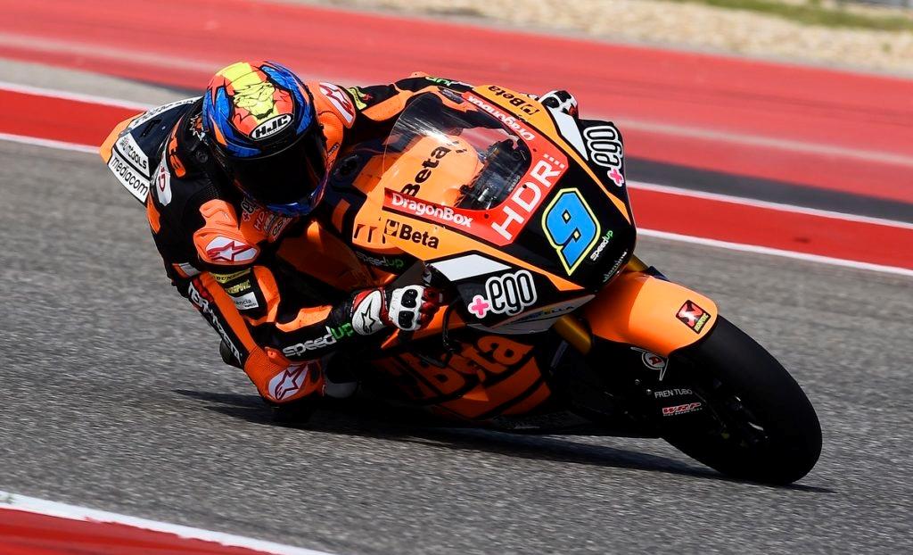 Jorge Navarro lidera el viernes de Moto2 en Jerez con Jorge Martín tercero