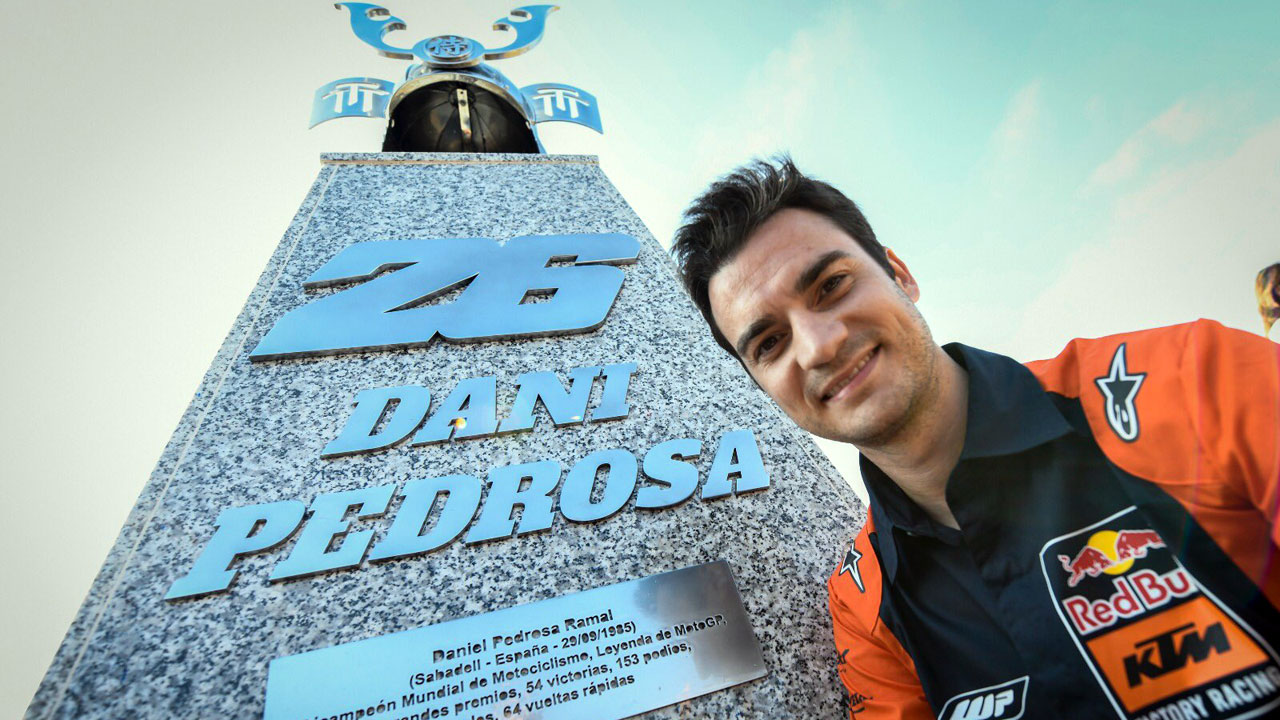 Jerez ya luce su curva Dani Pedrosa