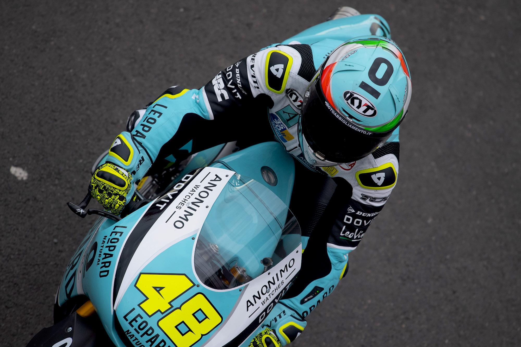 Lorenzo Dalla Porta, pole en Moto3 con Arón Canet como mejor piloto español