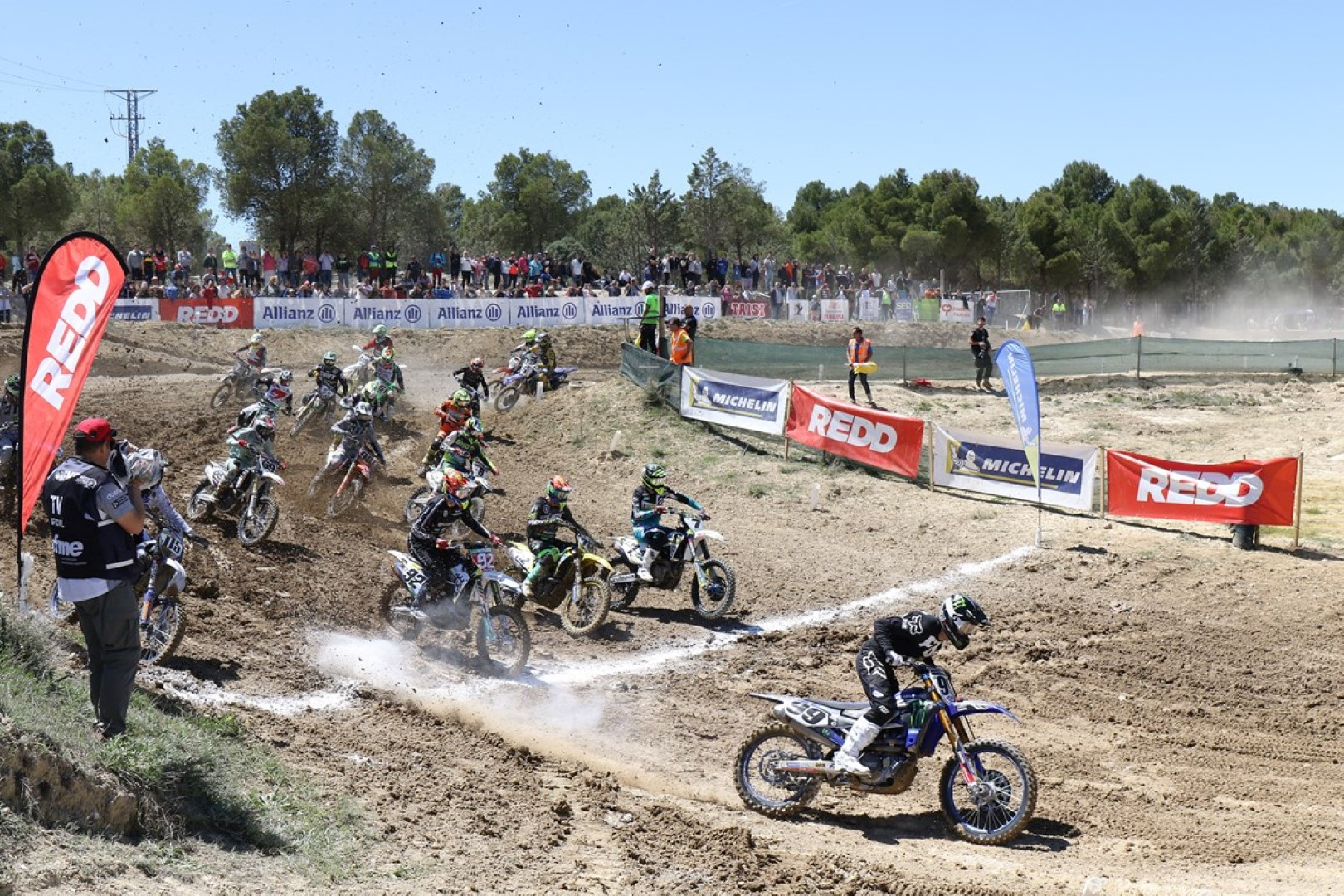 Jorge Zaragoza vuelve al primer puesto en el Nacional de Motocross en Calatayud