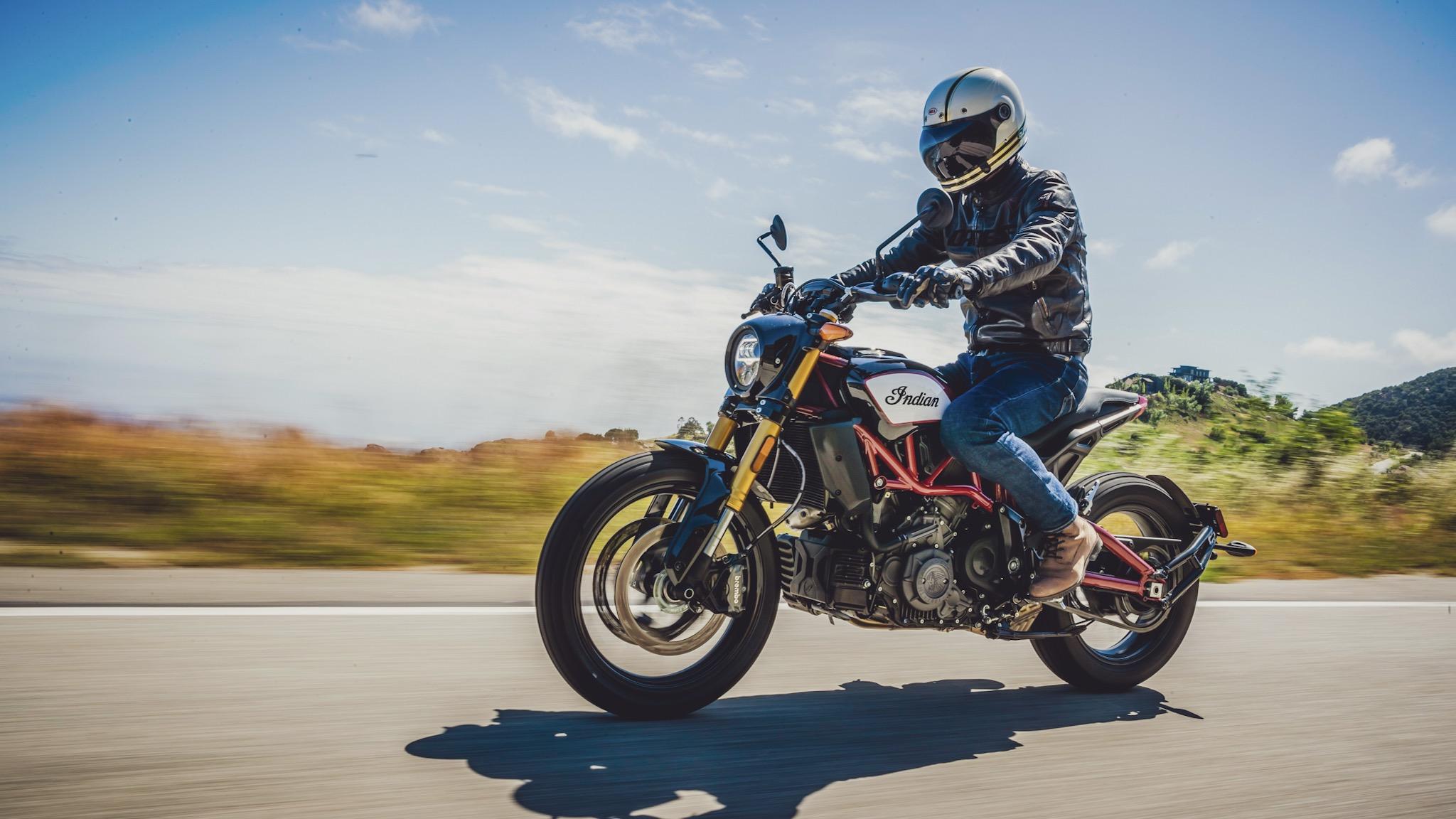 Indian FTR 1200, prueba y primeras impresiones en Santa Mónica
