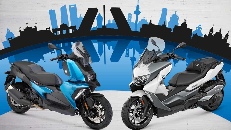 Descubre tu ciudad con los nuevos BMW C 400 X y C 400 GT