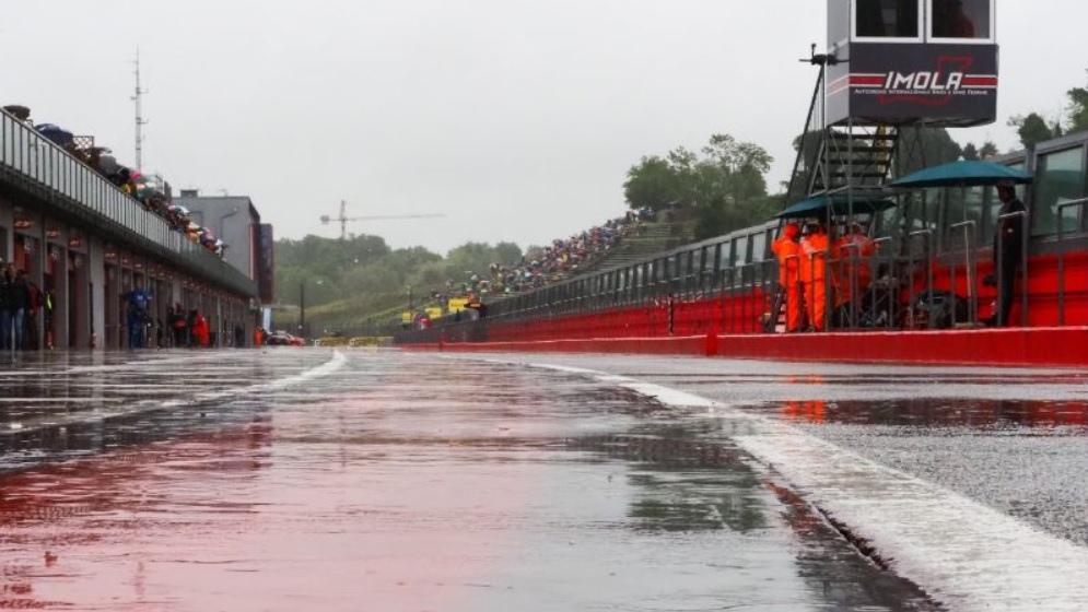 Cancelada la segunda carrera de Superbike en Imola por falta de seguridad