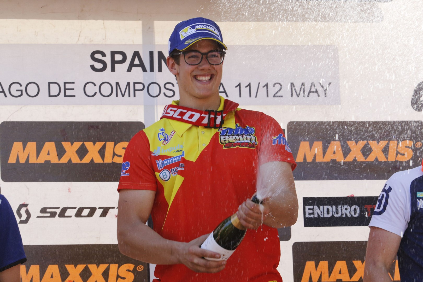 Nueva victoria de Enric Francisco en Junior en el EnduroGP de España