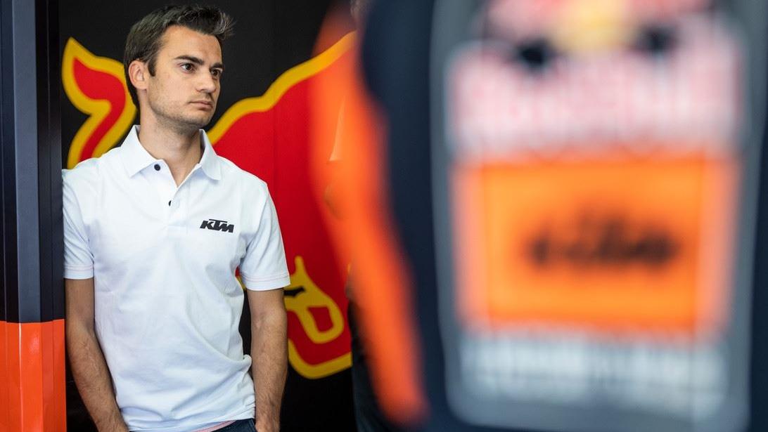 Dani Pedrosa se subió a la KTM en Mugello y podría debutar como probador en Catalunya