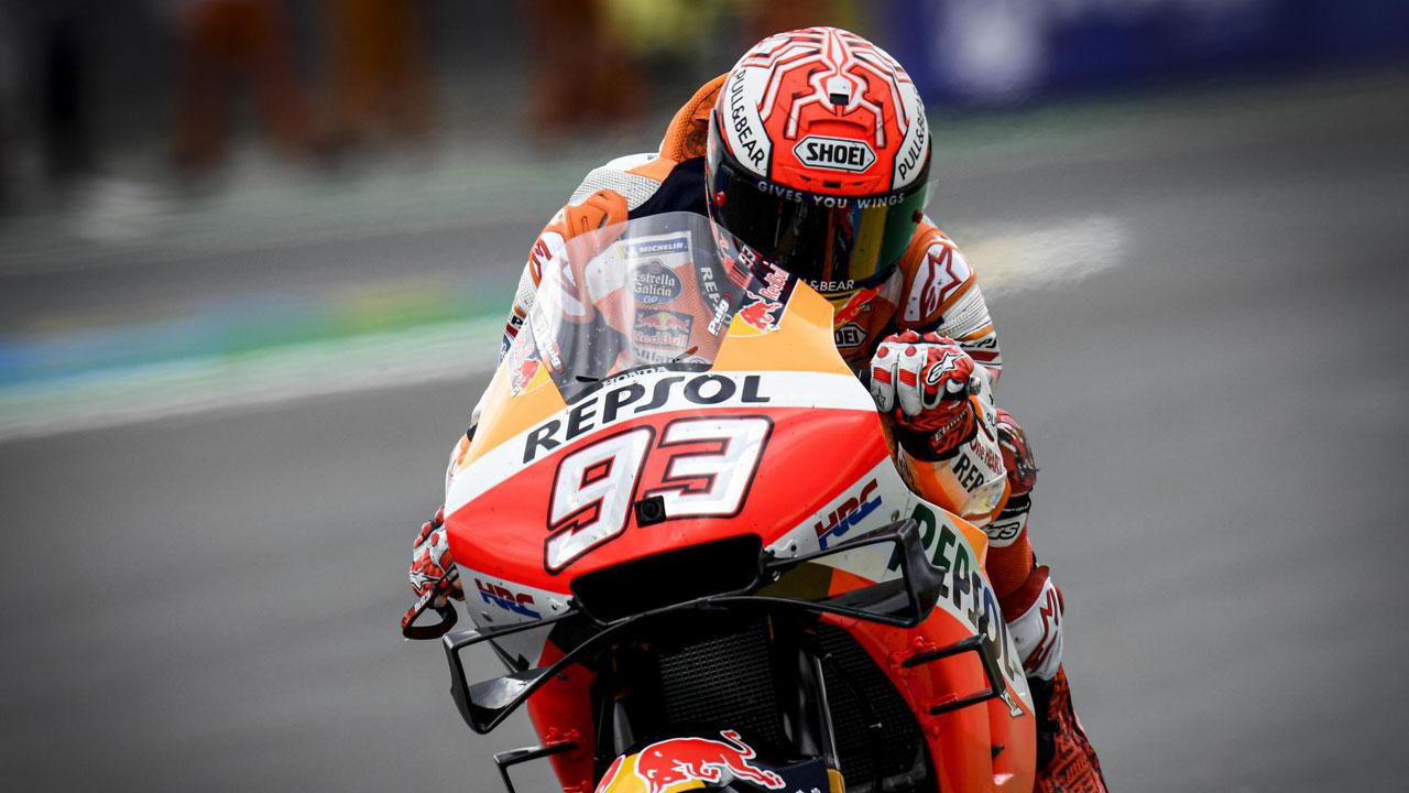 """Marc Márquez: """"La Yamaha está para ganar en Le Mans"""""""