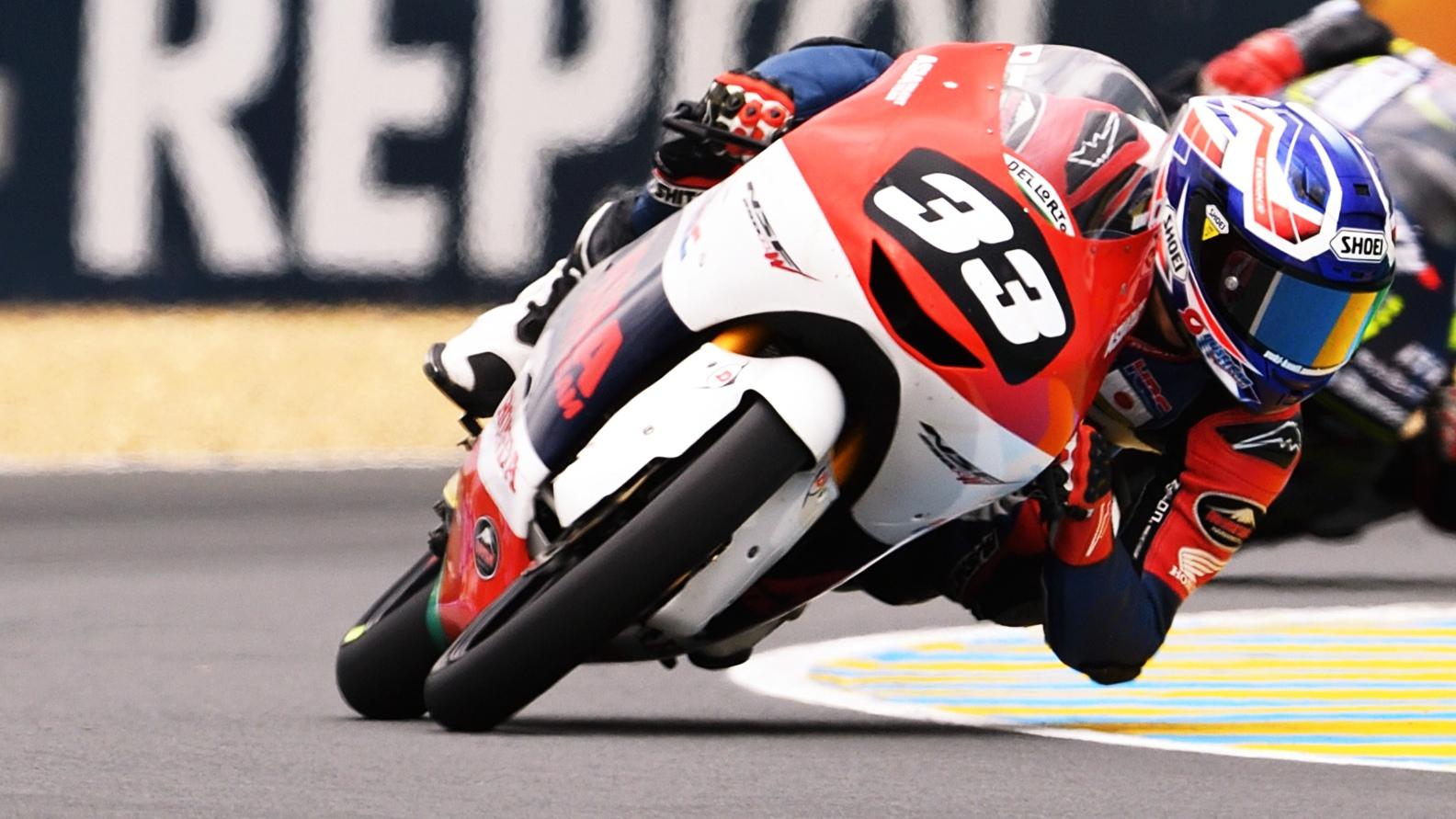 Yuki Kunii arrasa en Le Mans y apuntala el liderato del Mundial Junior de Moto3