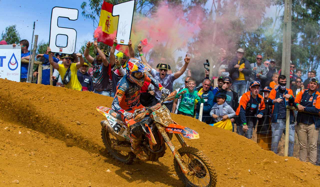 Jorge Prado recupera el liderato en el Mundial de MX2