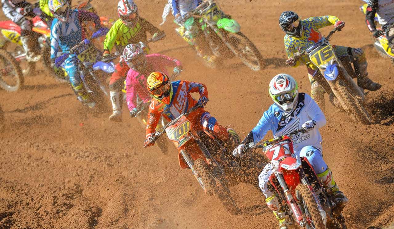 Máxima emoción en el final del Nacional de Motocross en MotorLand Aragón