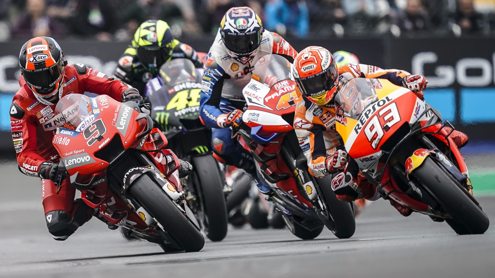 Las cinco constantes y media de MotoGP 2019