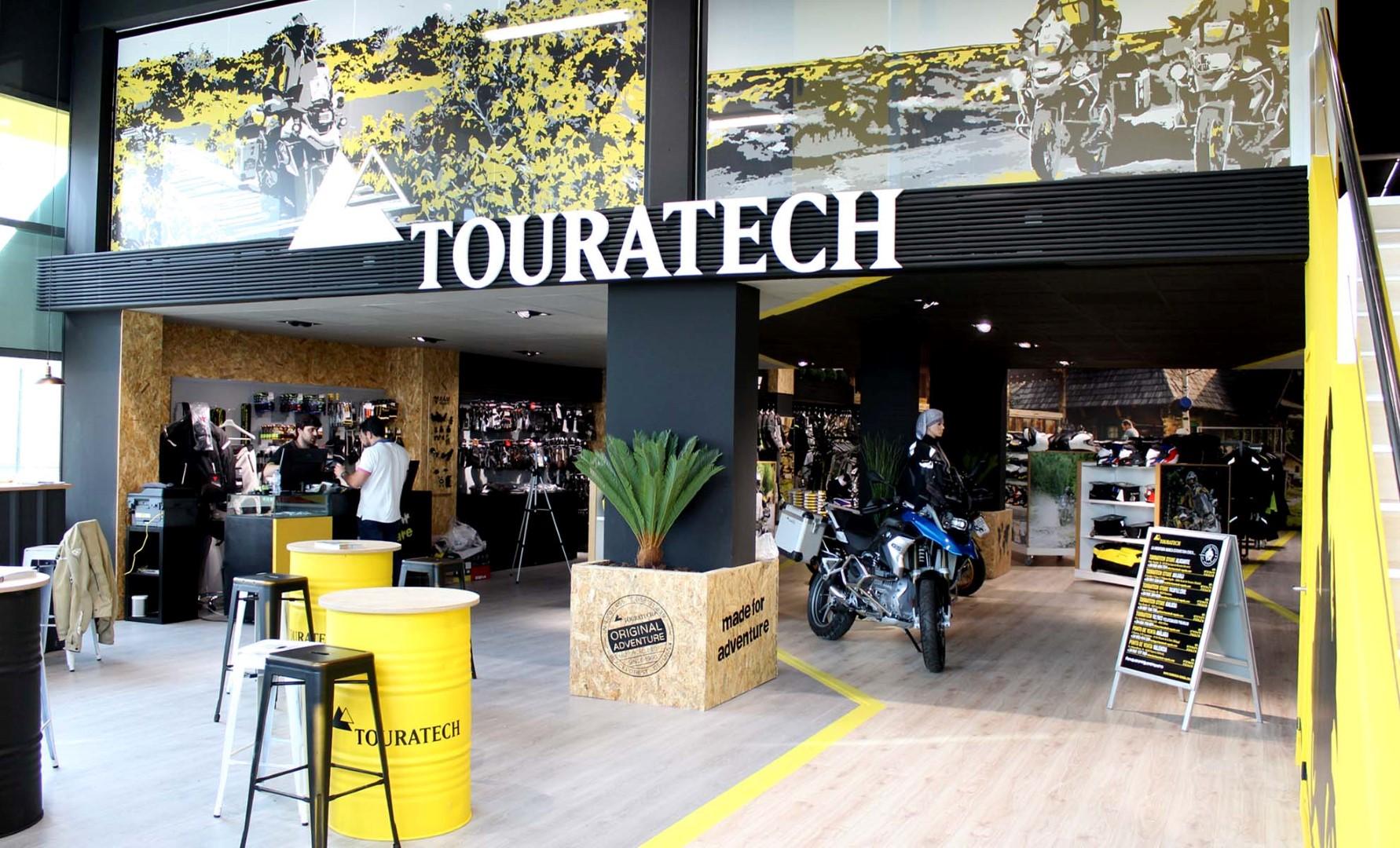 Touratech inaugura en Madrid un nuevo espacio para el motorista