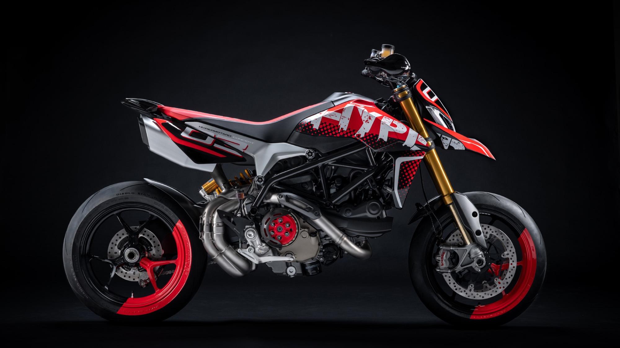 Ducati Hypermotard 950 Concept, el prototipo ganador en el Concorso d'Eleganza
