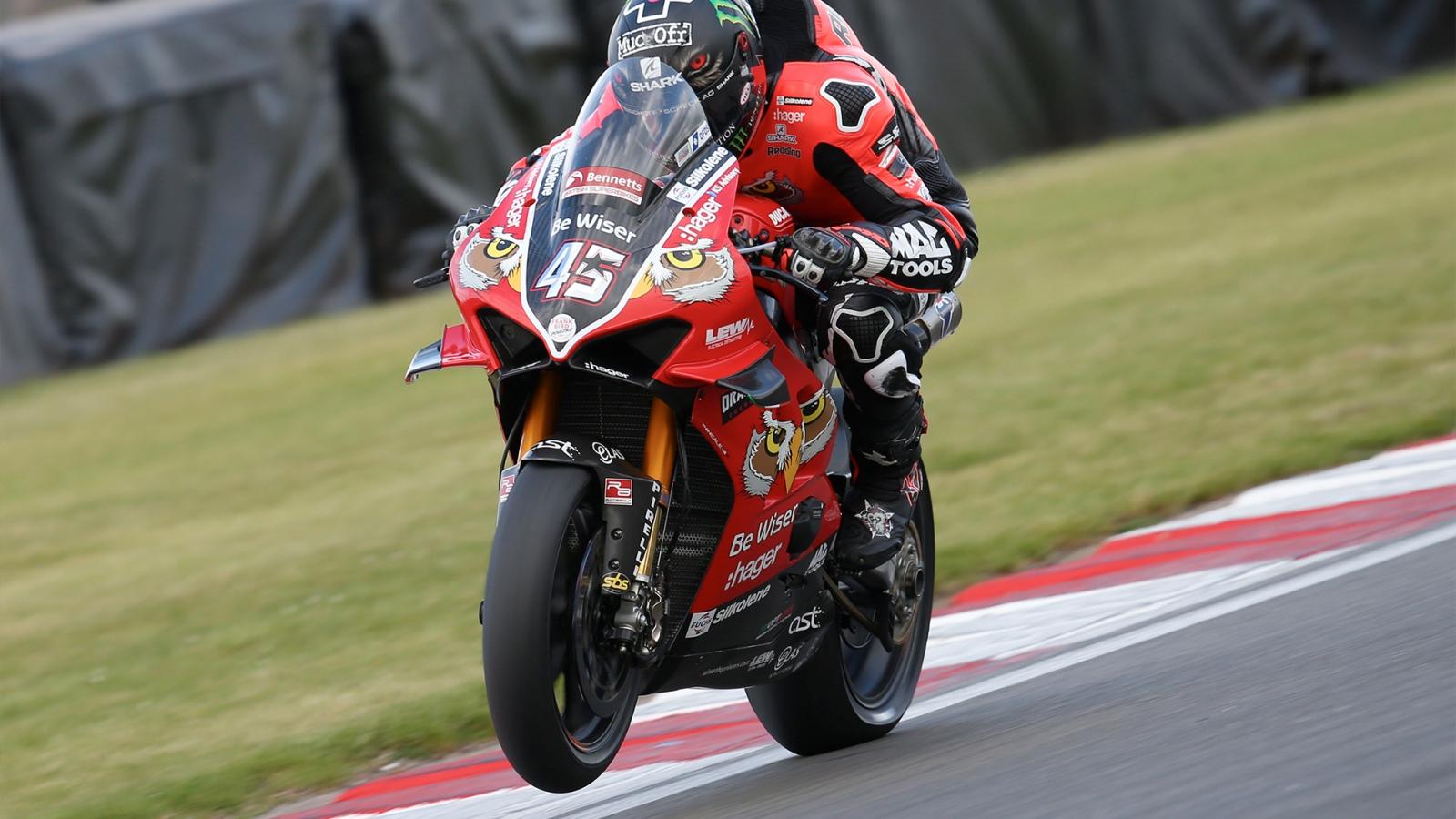 Scott Redding debutará en el Mundial de Superbike con una Ducati Panigale V4 R