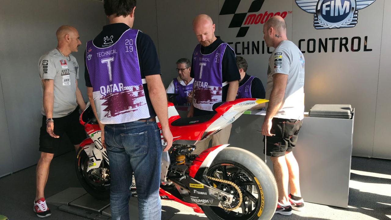 La ITV de MotoGP
