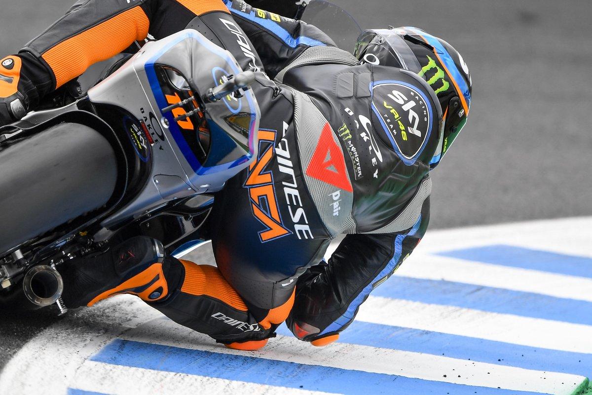 Luca Marini toma los mandos en los primeros libres de Moto2