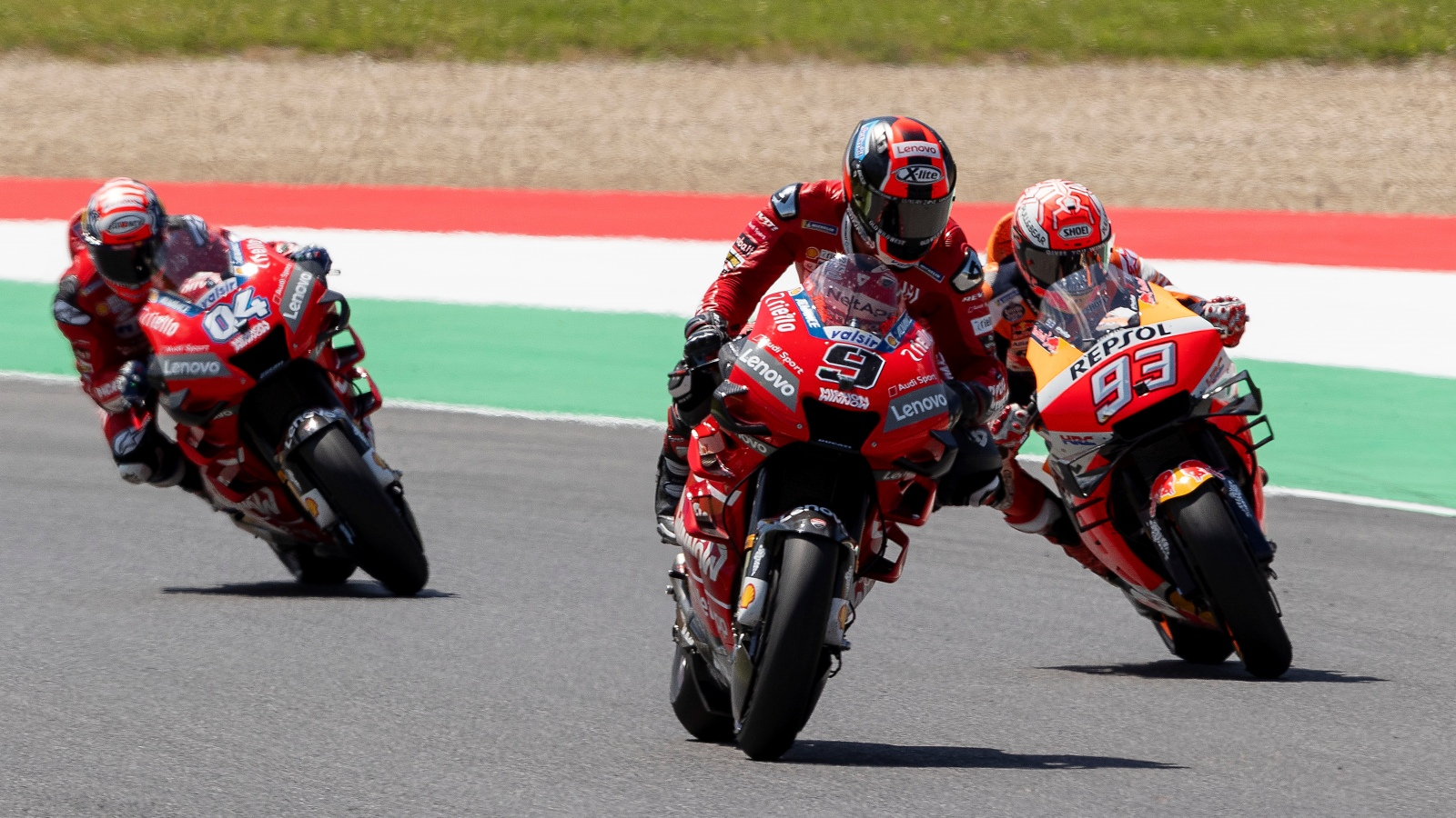 Píldoras MotoGP Italia 2019: La diana tricolore, la senda del tiempo y el TFG entregado