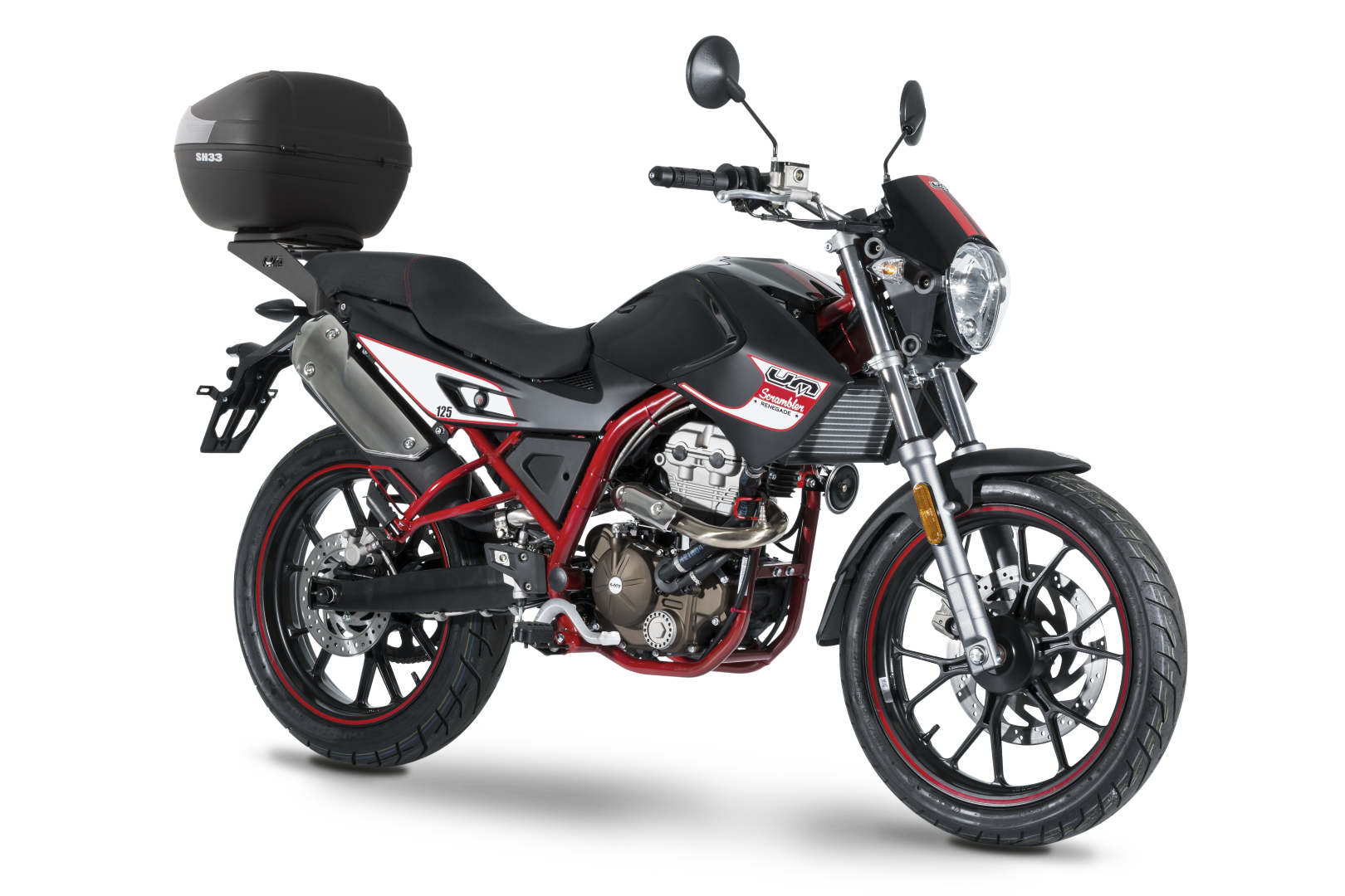 Aprovecha la promoción de las motos UM: baúl trasero de regalo