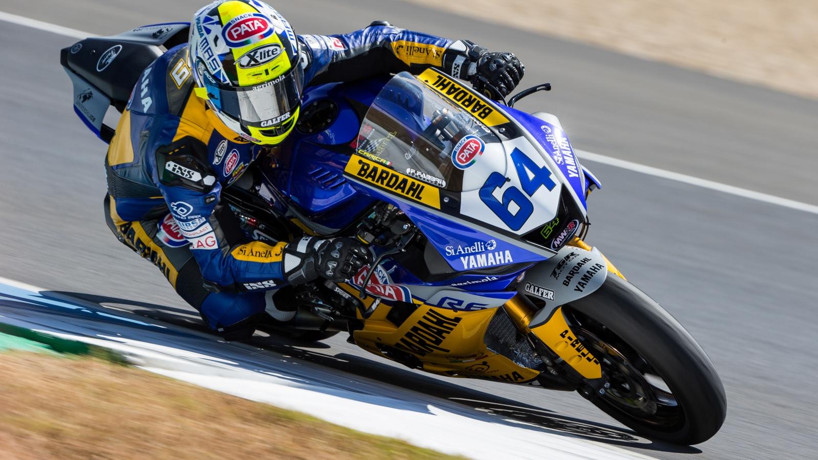 Victoria inapelable de Federico Caricasulo en el póquer de Yamaha en Jerez
