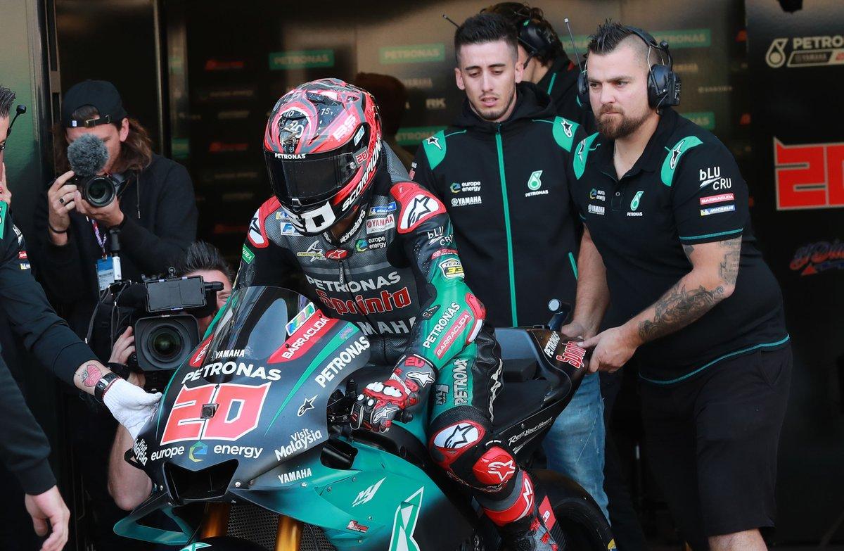 Mejor tiempo del día para Fabio Quartararo en MotoGP