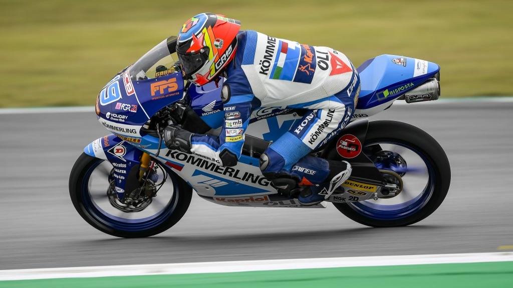 Gabri Rodrigo se hace con la pole de Moto3 en Montmeló