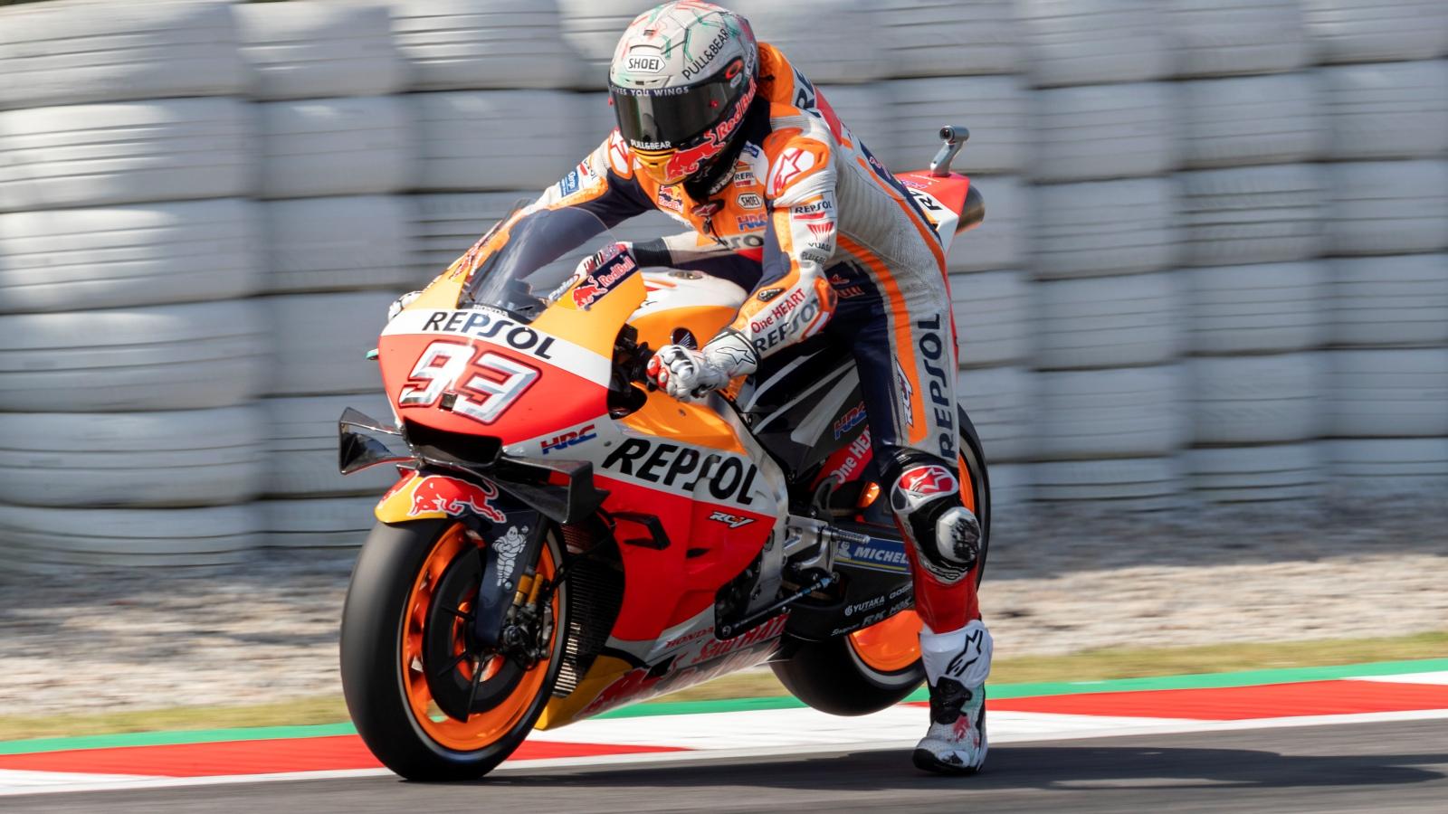 """Marc Márquez: """"No he visto nunca mal a las Yamaha, pero Quartararo les pone las pilas"""""""